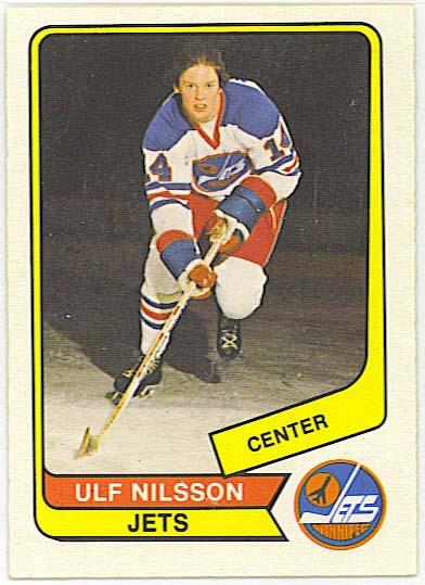 Ulf Nilsson - 1976-77 OPC WHA