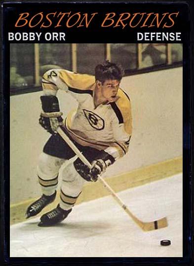 Bobby Orr - 1970-71 OPC custom