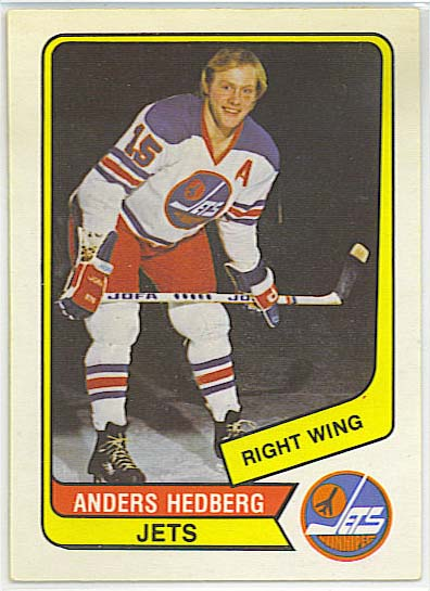 Anders Hedberg - 1976-77 OPC WHA