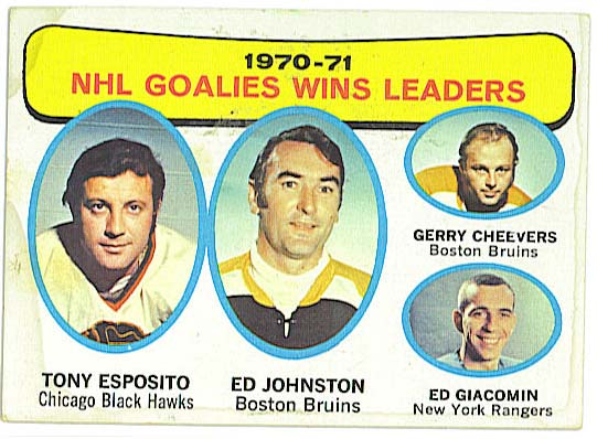 Wins Leaders - 1971-72 Topps