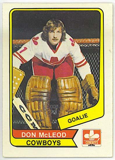 Don McLeod - 1976-77 OPC WHA