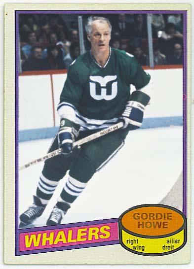 Gordie Howe - 1980-81 OPC custom