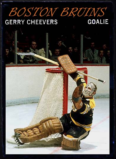 Gerry Cheevers - 1970-71 OPC custom