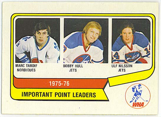 Important point leaders - 1976-77 OPC WHA