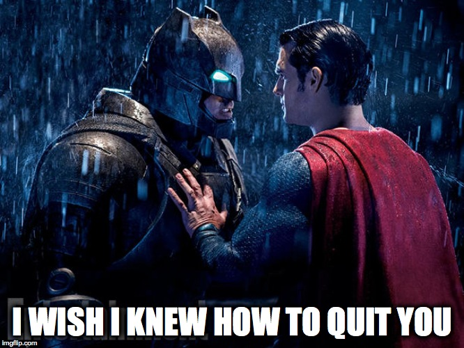 The Thoughts I Thinkily Thunked Whilst Watching Batman Vs  Superman