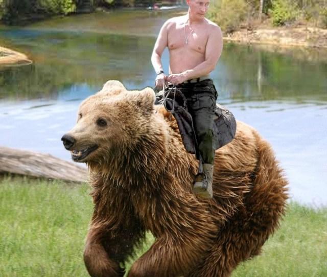 Whoa Oh Putin On A Bear