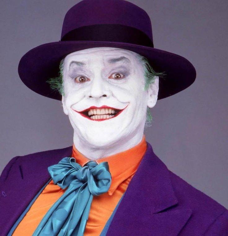 High Quality Jack Nicholson Joker Blank Meme Template