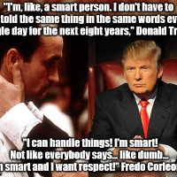 Let Donald Be Fredo...er...Donald