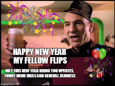 Picard's New Year WIsh - Imgflip
