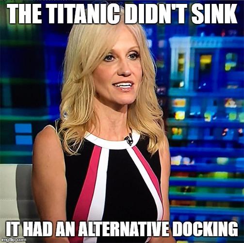 Kellyanne Conway alternative facts meme