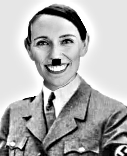 Jacinda Ardern Hitler Blank Template - Imgflip