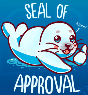 High Quality seal of approval Blank Meme Template