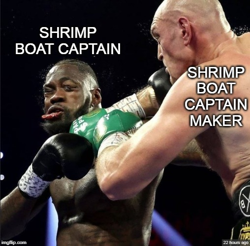 · tyson fury finished the show in the 11th round with a decisive knockout. forest gump Memes & GIFs - Imgflip