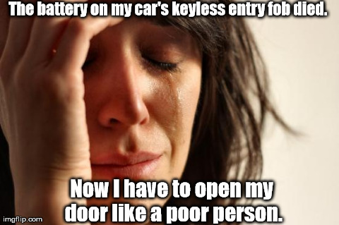I have to use my key. :'(
