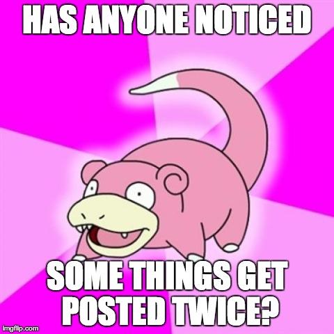 I never noticed!