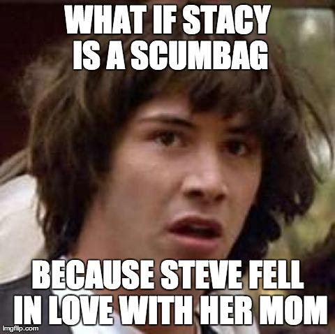Scumbag Steve created Scumbag Stacy