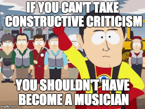 I'm a music journalist and woke up to some flattering messages from the band in my inbox after I critiqued their concert.