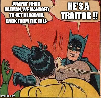 I agree with Batman on this one...