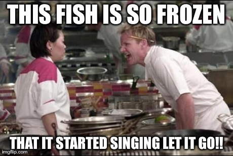 Angry Chef Gordon Ramsay