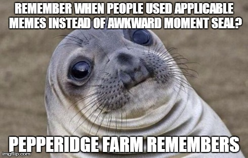 I don't hate the seal, but people are just getting lazy [fixed]