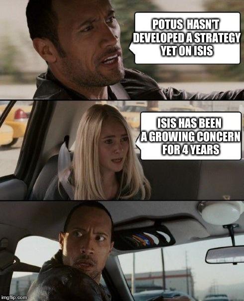 POTUS ISIS Strategy