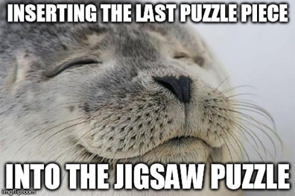 Image result for jigsaw puzzle memes