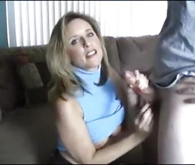Wonderful Mature Woman Jerking Off A Cock