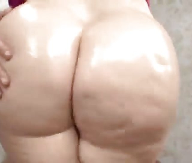Big Thick Girl Gets Oiled Up And Anal Fucked