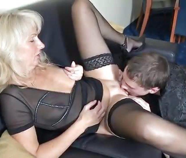 Hot Mom Seduced And Fucked Son