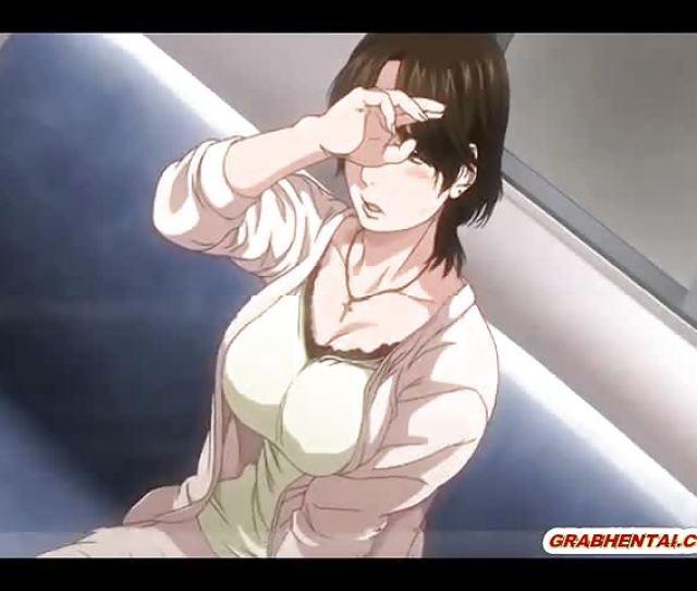 Busty Japanese Hentai Mom Hot Gangbanged