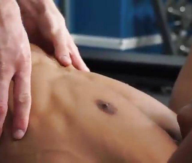 Interracial Gay Sex In The Confines Of A Gym