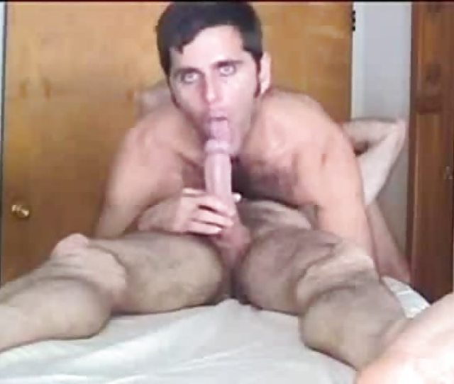 Hairy Mature Guy Getting Face Fucked