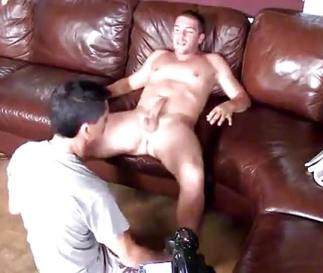 A Straight Guy Gets His Ass Rimmed