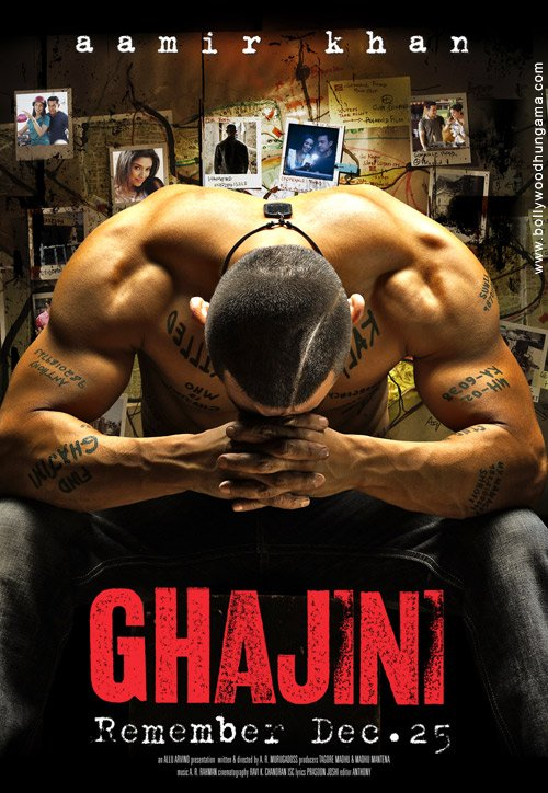 Ghajini Movie Poster