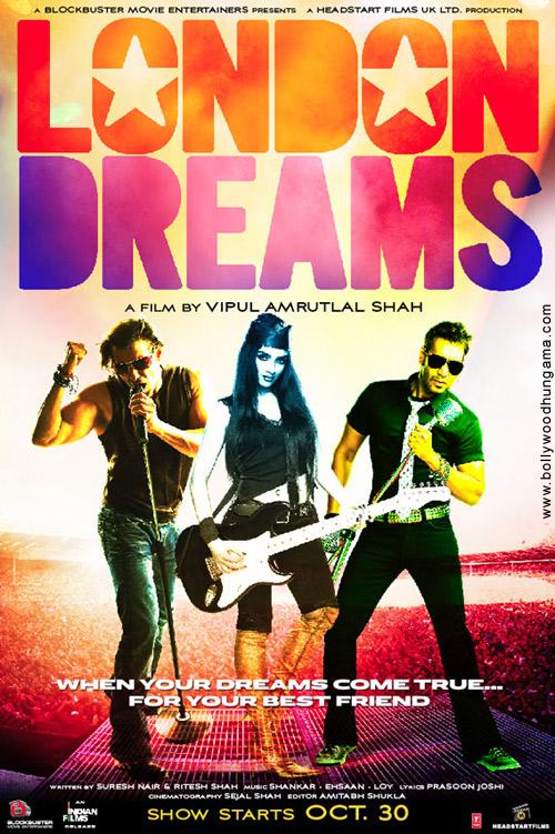 London Dreams, Salman Khan,Ajay Devgan,Asin,Rannvijay Singh,Adithya Roy Kapoor,Om Puri,Khalid Azmi,Babsy Artner,Brinda Parekh,Michael Gamarano