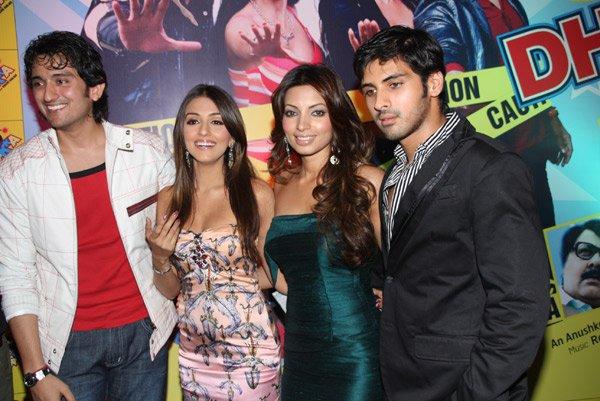 Shaad Randhawa, Aarti Chhabria, Shama Sikander and Sameer Dattani