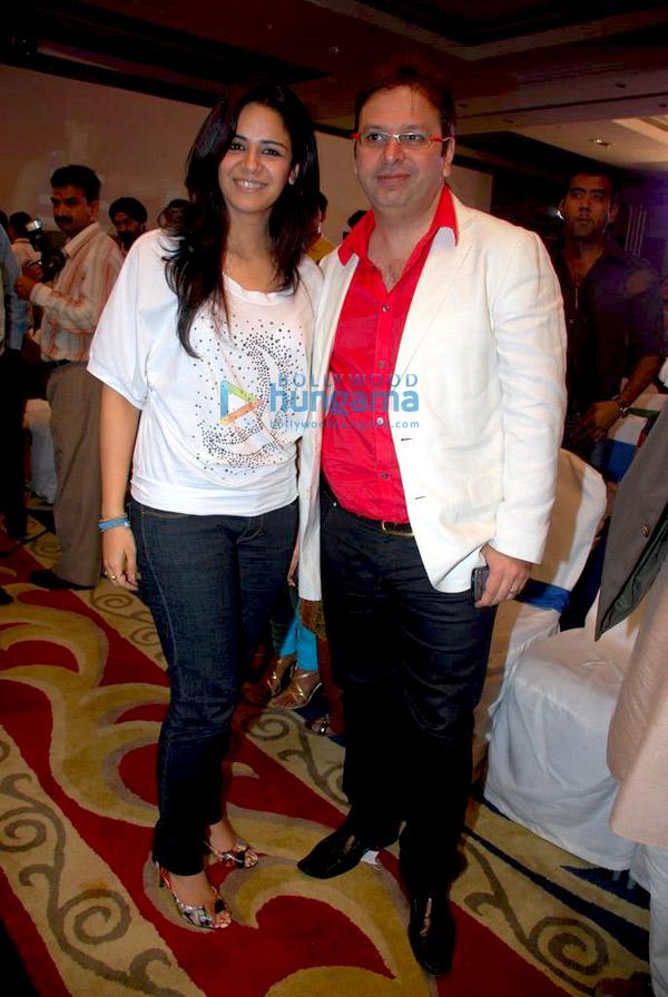 Mona Singh and Roshan Abbas