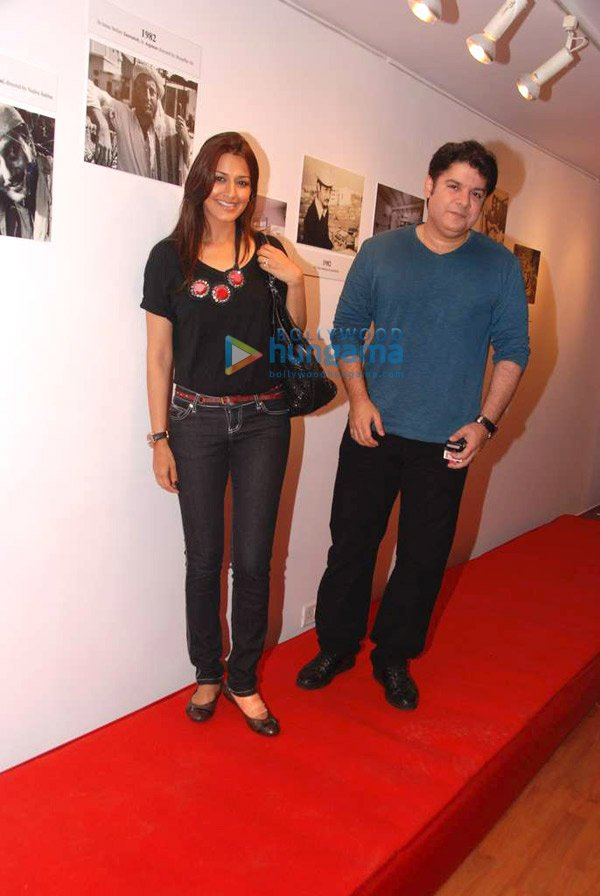 Sonali Bendre and Sajid Khan