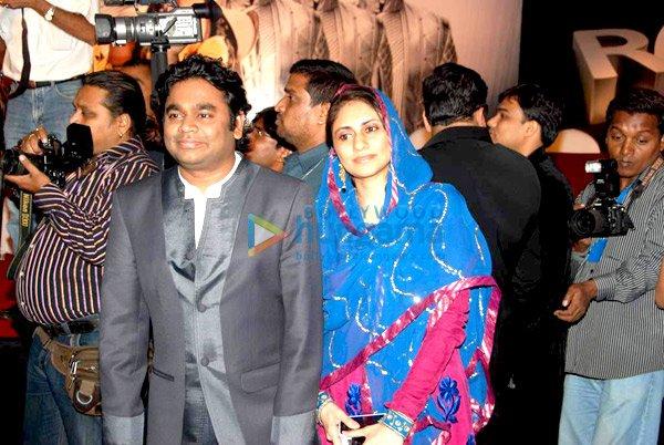 A R Rahman, Saira Banu