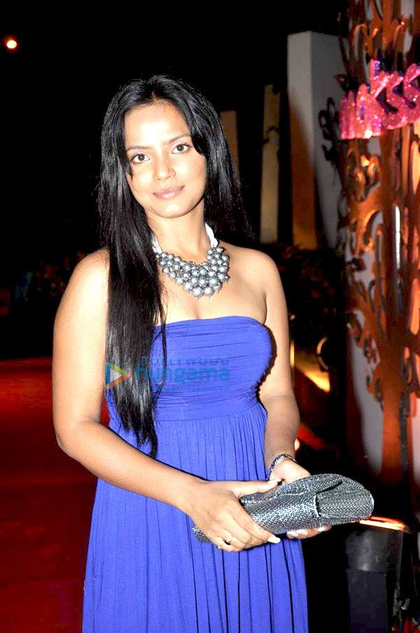 Neetu Chandra at Mokssh wine launch