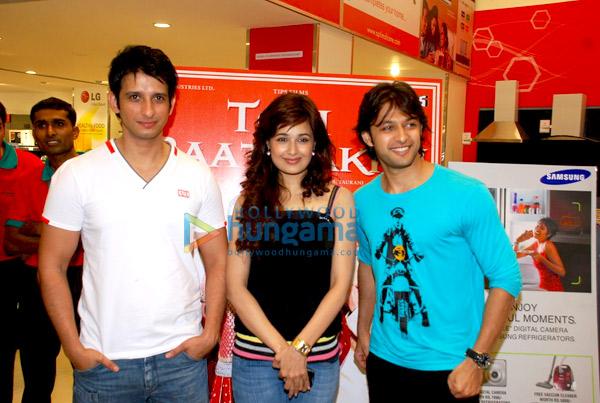 Sharman, Vatsal and Yuvika promote Toh Baat Pakki