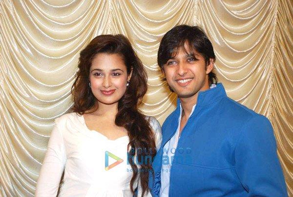 Yuvika Chaudhary and  Vatsal Sheth