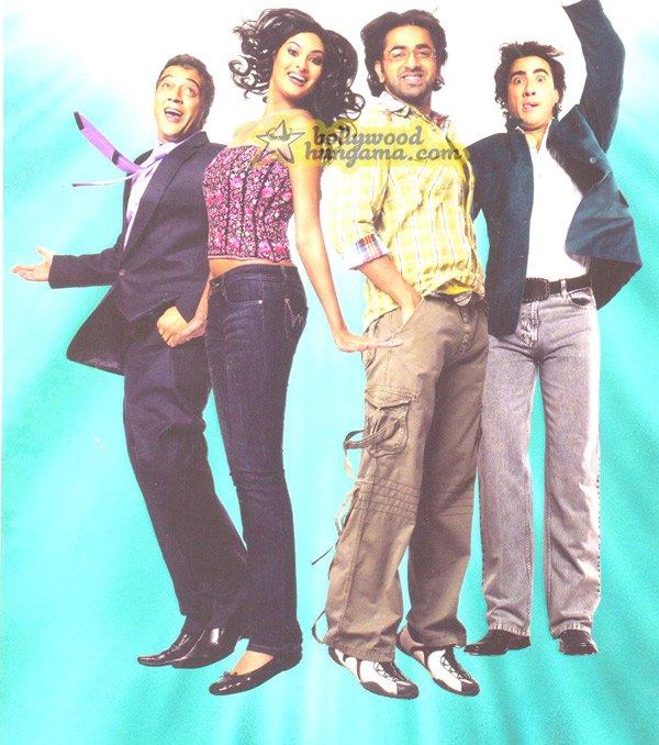 Good Luck, Aryeman,Sayali Bhagat,Ranvir Shorey,Lucky Ali,Archana Puran Singh,Sharat Saxena,Mushtaq Khan,Nazneen Patel,Pubali Sanyal,Upasna Singh,Viju Khote,