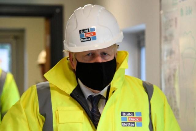 Boris Johnson has warned of a tough winter ahead