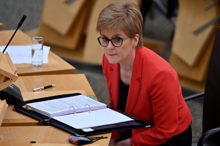 Nicola Sturgeon has always said she regarded her meetings with Alex Salmond as a party matter (Photo: AFP)