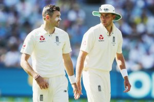 The end of the era?  James Anderson fears he last played alongside Stuart Broad