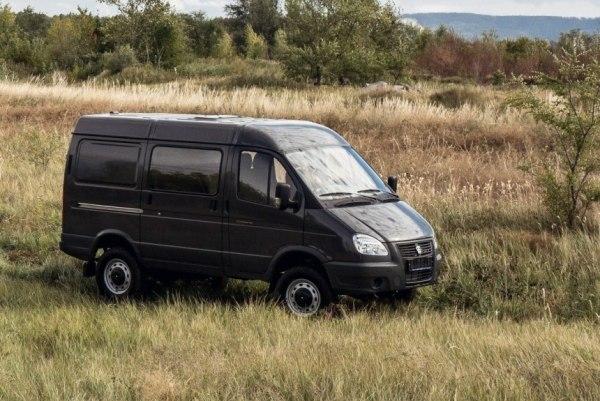 ГАЗ 2752 Соболь Бизнес цены отзывы характеристики 2752