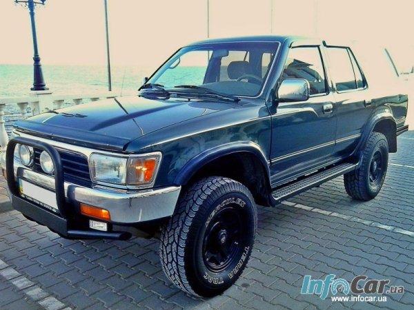 Отзыв о Toyota 4Runner 24 л 1995 года от Игорь из Одессы