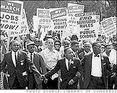 Martin Luther King Jr. Leads March for Civil Rights