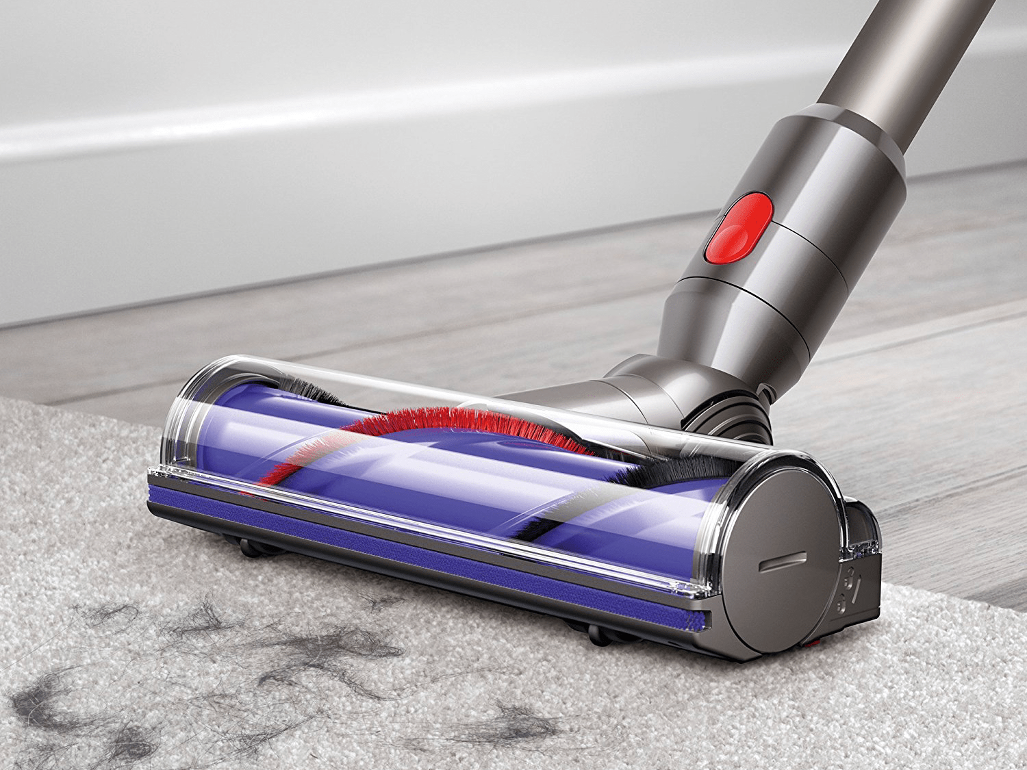the dyson v8 animal is the best vacuum